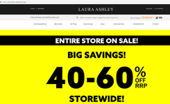 La filial australiana de Laura Ashley entra en concurso por segunda vez desde 2016
