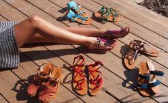 Marques familiales : K.Jacques, les sandales venues de Saint-Tropez