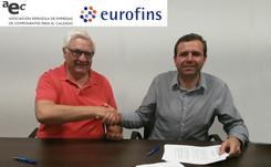 AEC y Eurofins firman convenio en colaboración para asesorar a empresas
