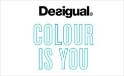 Desigual celebra el color como emoción y nos recuerda que es su materia prima en su última campaña SS19