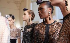 "Armani reinterpreta el estilo ""folk"" durante la Semana de la Alta Costura de París"