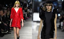 Slimane back in black as king of Paris fashion week