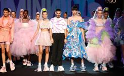 Domingo Rodríguez, ganador del Mercedes-Benz Fashion Talent
