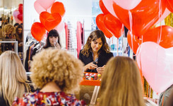 Alexa Chung goes for Bingo at her second collection drop