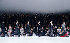 Lady Gaga stuns in Marc Jacobs NY fashion finale
