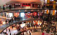 Las ventas en los centros comerciales crecen un 6,1 por ciento