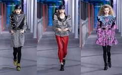 Mezcla de colores e inspiración pop en la última colección de Louis Vuitton