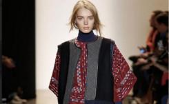 """Bohemia y piezas """"maxi"""", desembarcan en la semana de la moda de Nueva York"""
