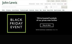 John Lewis enjoys 'promising' Black Friday