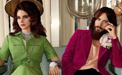 Lana Del Rey, Jared Leto y Courtney Love, protagonistas de la última campaña de Gucci