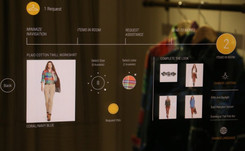 Ralph Lauren testing interactive fitting rooms
