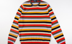 Pitti Uomo: Drumohr colori brillanti e stile anticonformista