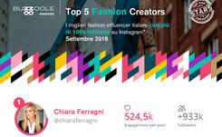 Analisi Buzzoole: ecco i top influencer italiani