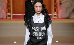 Darling, you look divine! Religion on the runway