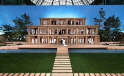 Karl Lagerfeld promete un verano Chanel sereno y en equilibrio con el medio ambiente
