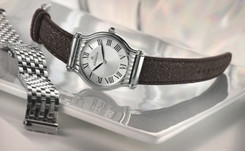 Montre Michel Herbelin, nouveau modèle Antarès à bracelet interchangeable