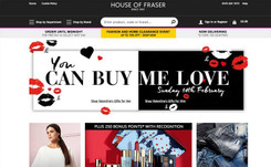 House of Fraser to let brands bid for space on website