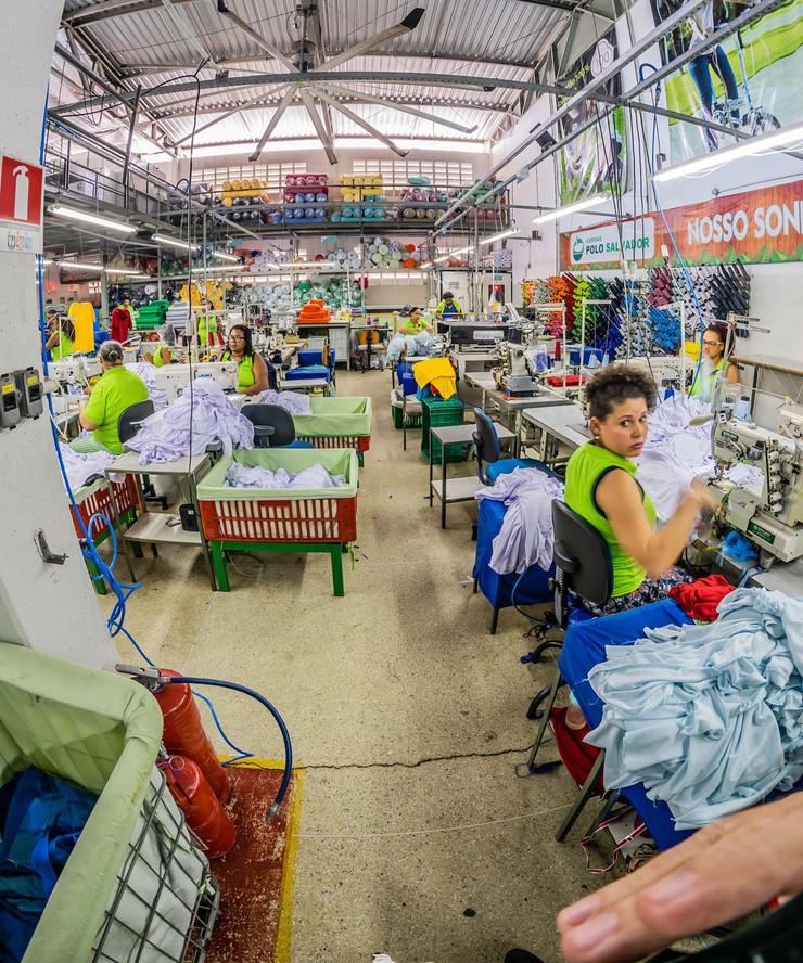 Empresa têxtil baiana zera emissão de carbono na atmosfera