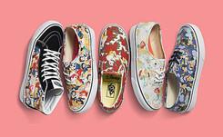 Vans lance une collection Disney Princess