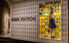 Louis Vuitton abrió un local pop up en Buenos Aires