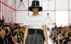 Teddy Girls make comeback in Dior's rebel Paris show