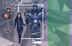 Atención a los robots: la fascinación de la industria de la moda con la tecnología en la pasarela