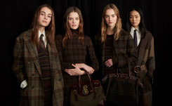 Lauren puts English country look on NY catwalk