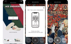 Gucci introduces AR technology for its Ace sneakers