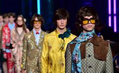 Desfile de Gucci en la Semana de la moda masculina en Milán