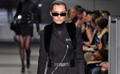 Wang en la oficina y Plein al aire libre en la Semana de la Moda de NY