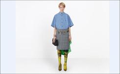 Balenciaga looks to Angela Merkel for inspiration at Paris Fashion Week