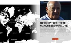Riqueza en la Moda: Top 10 de Billonarios en el mundo de la moda 2017