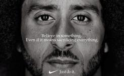 """Nike défend sa campagne publicitaire avec Kaepernick, """"risquée"""" mais justifiée"""