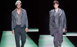 Transparencias e inspiración oriental en la Semana de la Moda masculina de Milán