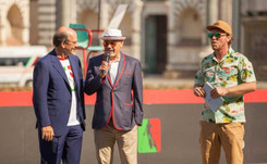 Christian Louboutin presenta a Pitti la sneaker Aurelien