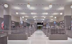 Un hall dédié aux lunettes à Selfridges Londres