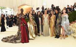 Celebrity Dressing: Behind the scenes of a Met Ball gown