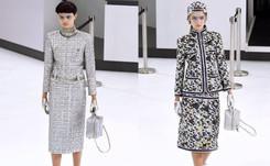 """Moda en París: Lagerfeld invita a viajar con """"Chanel Airlines"""""""