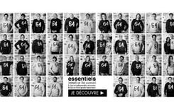 La marque de vêtements 64 lance la gamme Les Essentiels